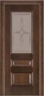 Межкомнатная дверь 53 (со стеклом 2) венге