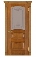 Межкомнатная дверь 50 (остекленная 2) даймон