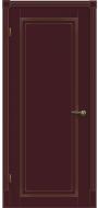 Межкомнатная дверь Флоренция ПГ(бордо)