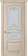 Межкомнатные двери 50 (остекленная) ясень Crema