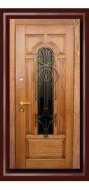 Готика стеклопакет Входные двери Форт Лок