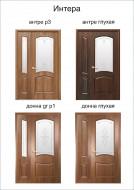 Двустворчатые двери Донна Новый Стиль