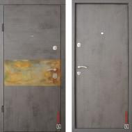 Входные двери Zimen Elite Стандарт модель Rusty