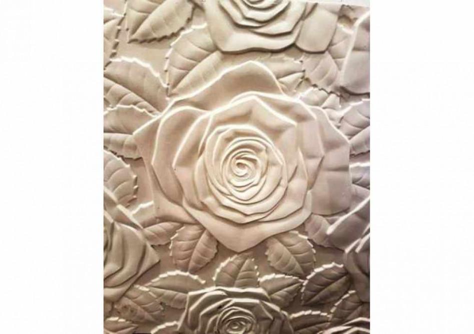 """Гипсовые 3D панели """"Розы"""""""