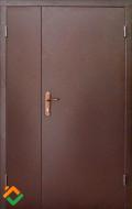 Дверь полуторная металлическая Форт