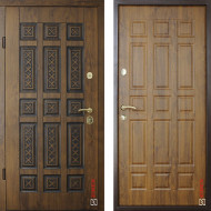Входные двери Zimen Elite Стандарт модель Quadro Pt