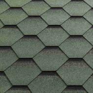 Битумная черепица Katepal коллекция Katrilli Зелень моховая
