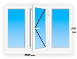 Окна Koning 5-х камерный профиль