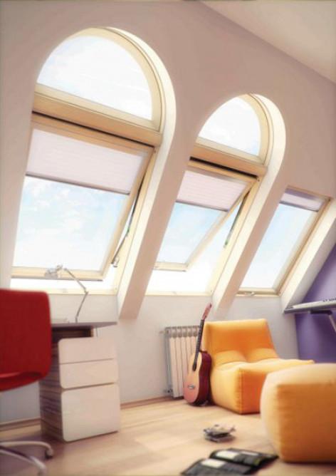Арочное окно Fakro