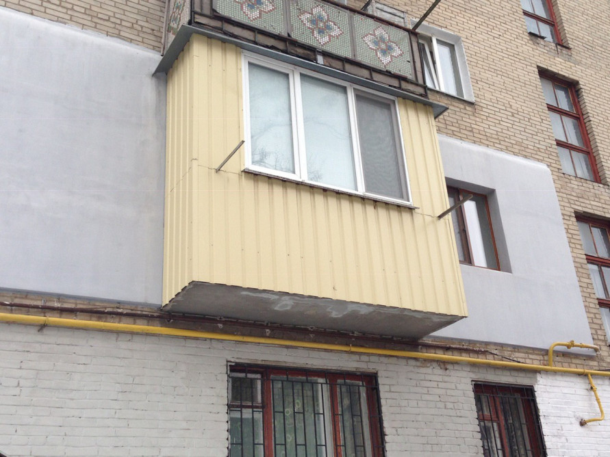 Обшивка балконов