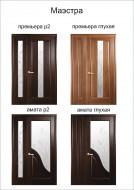 Двери межкомнатные Премьера Р2 двойная