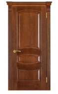 Межкомнатная дверь 50 (глухая) дуб браун