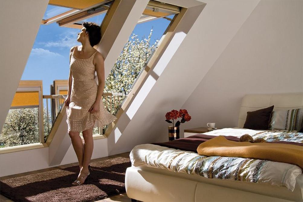Окно-балкон Fakro Galeria