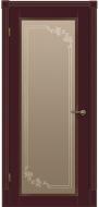 Межкомнатная дверь Флоренция ПО(бордо)