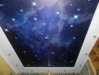 Натяжные потолки Звёздное небо